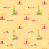 Christmas graphic elements pattern Royalty Free Stock Images