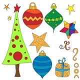 Christmas Graphics Collection Royalty Free Stock Image