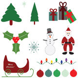 Christmas graphics. Illustration graphics for the Christmas holiday Stock Image