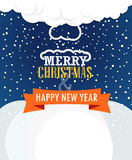 Christmas greating card Stock Images