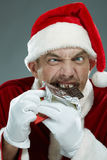 Christmas greed Stock Photo