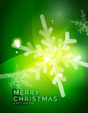 Christmas green abstract background  Stock Photography