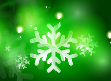 Christmas green abstract background  Royalty Free Stock Photography