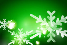 Christmas green abstract background Royalty Free Stock Photo