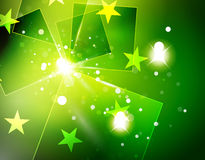 Christmas green abstract background  Stock Images