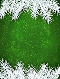Christmas green abstract background. Royalty Free Stock Image