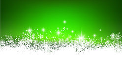 Christmas green abstract background. Royalty Free Stock Images