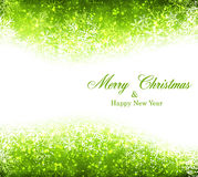 Christmas green abstract background. Stock Photography