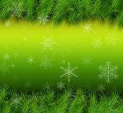 Christmas green background Royalty Free Stock Image