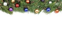Christmas Green Border Stock Image