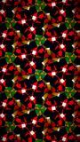 Christmas green red pattern wallpaper Stock Photo