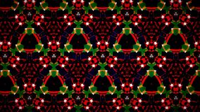 Christmas green red pattern wallpaper Royalty Free Stock Image