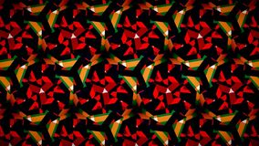 Christmas green red pattern wallpaper Stock Photos