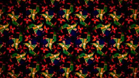 Christmas green red pattern wallpaper Royalty Free Stock Photography