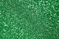 Christmas Green Sparkle Background Stock Photo