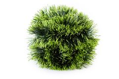 Christmas green tinsel pile. Stock Image