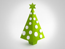 Christmas green tree Royalty Free Stock Photography