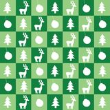 Christmas green wallpaper Royalty Free Stock Image