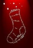Christmas greeting Stock Image