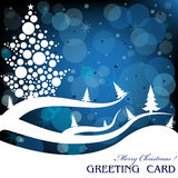 Christmas greeting Stock Photography