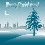 Christmas greeting Stock Image