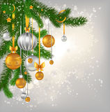 Christmas greeting Royalty Free Stock Photography