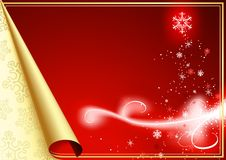 Christmas Greeting Royalty Free Stock Photo