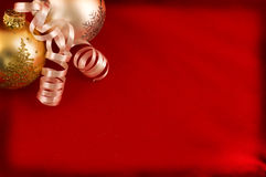 Christmas greeting background Stock Image