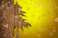 Christmas greeting background Royalty Free Stock Images