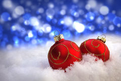 Christmas Greeting Background With Copyspace Royalty Free Stock Photo
