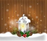 Christmas greeting background Stock Image