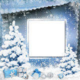 Christmas greeting background Royalty Free Stock Photos
