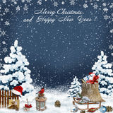 Christmas greeting background Royalty Free Stock Photography