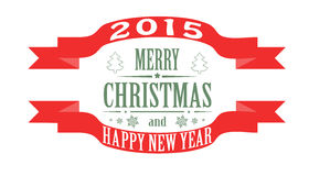 Christmas greeting banner Royalty Free Stock Images
