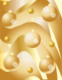 Christmas greeting with bells Stock Photography