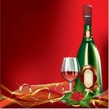 Christmas greeting car Stock Photo