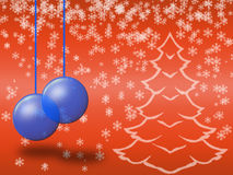 Christmas greeting card (01) Stock Photo