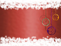Christmas greeting card (06) royalty free stock image