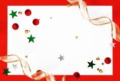 Christmas greeting card Royalty Free Stock Image