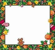 Christmas greeting card. With copyspace for your text Royalty Free Stock Images