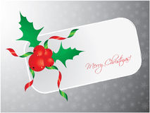 Christmas greeting card. Abstract background Royalty Free Stock Photo