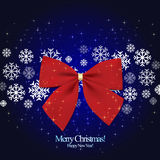 Christmas greeting card Stock Images