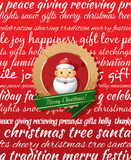 Christmas Greeting Card. Stock Photography