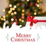 Christmas greeting card Stock Photo