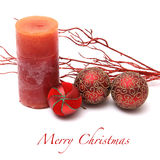 Christmas greeting card background. Christmas background with ornaments and decorations Stock Photos
