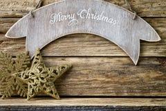 Christmas greeting card. Stock Photography