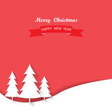 Christmas greeting card. Background and backdrop, vector Stock Photography