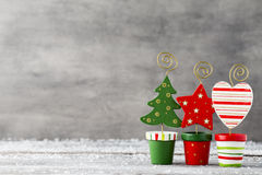Christmas greeting card. Christmas background, greeting card. Decoration Stock Photography