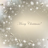 Christmas greeting card, background with decoration Royalty Free Stock Images