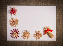 Christmas greeting card background Stock Photos